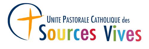 Unité Pastorale des Sources Vives Logo